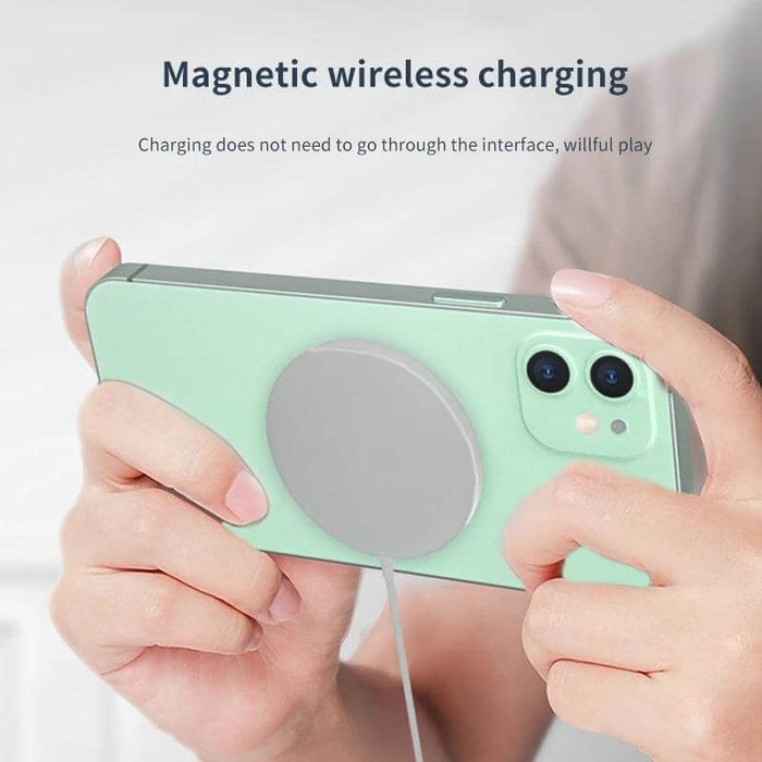 Bakeey Magnetic 15W Qi Wireless Charger Fast Wireless Charging Pad For iPhone 12 12 Mini 12 Pro Max Apple AirPods Pro Apple Watch Series For Samsung Galaxy Note 20 S20 Xiaomi Mi10