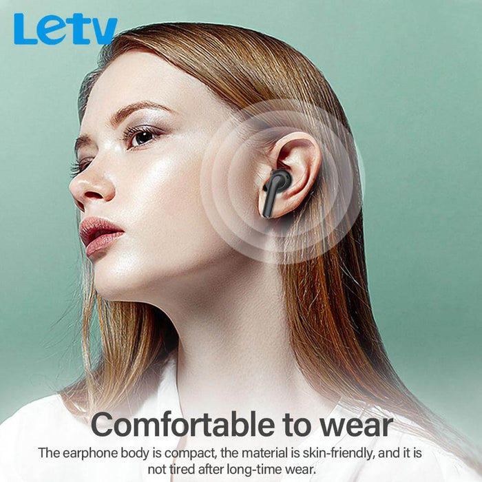 Letv Ears Pro TWS bluetooth 5.0 Earphones Active Noise Reduction Charging Box Wireless Headphone Touch Control With Microphone
