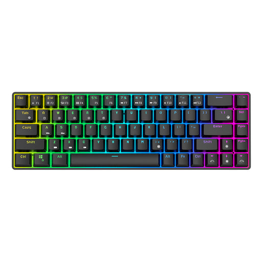 Royal Kludge RK855 68 Keys Mechanical Gaming Keyboard Dual Mode Wireless bluetooth 5.1 Type-C Wired RGB Backlit RK68 Keyboard