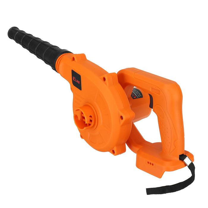 18000RPM Cordless Handheld Electric Air Blower Vacuum Dust Leaf Blowing Cleaner For 4.0Ah 18V Li-ion Battery