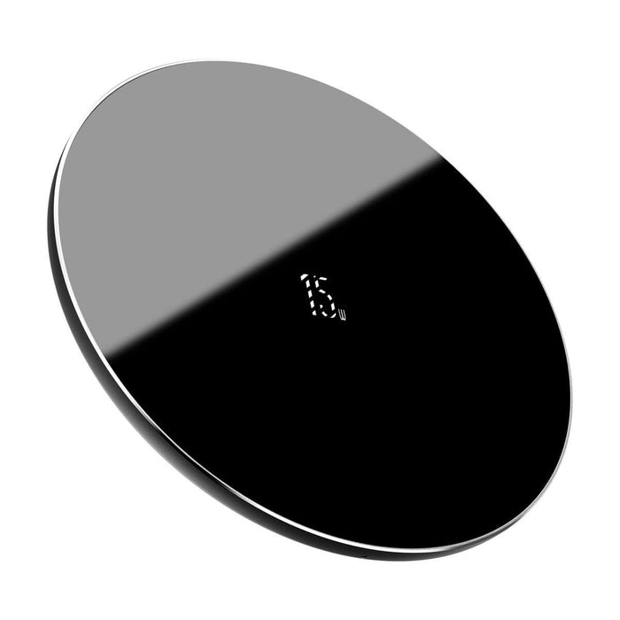 Baseus 15W Quick Charge Wireless Charger Fast Wireless Charging Pad Phone Charger Earbuds Charger For Qi-enabled Smart Phones For iPhone 11 SE 2020 For Samsung Galaxy S20 Huawei P40 Pro Apple AirPods Pro