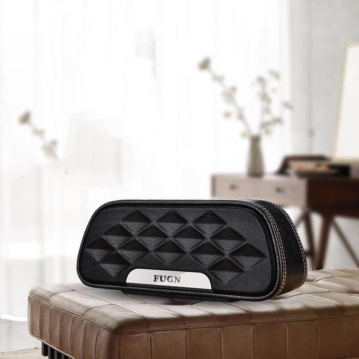 Fugn Bluetooth Speaker Smart Press Outdoor Portable Audio Subwoofer Bluetooth Speaker Mobile Phone Card Bass Bluetooth