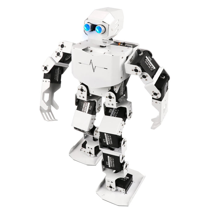 Hiwonder Tonybot Programming Humanoid Robot with 16 High Voltage Bus Servos 10 Action Groups