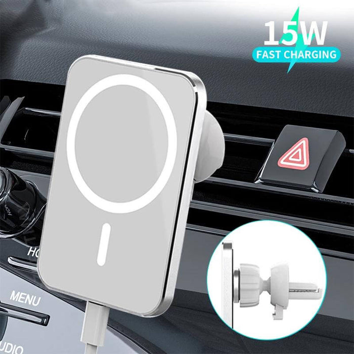 Bakeey 15W Wireless Magsafe Magnetic Car Charger Holder Mount for iPhone 12 Mini/12 Pro/12 Pro Max for Samsung Galaxy Note S20 ultra Huawei Mate40 OnePlus 8 Pro