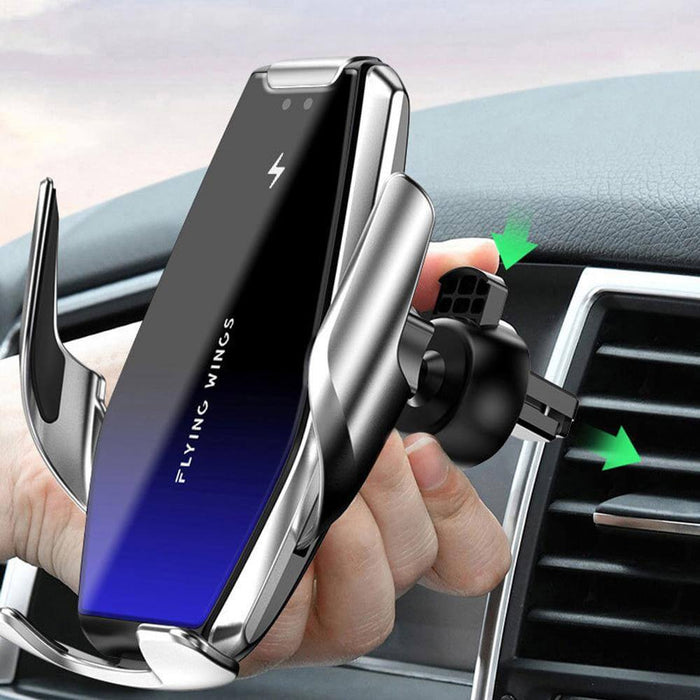 Bakeey 15W Infrared Induction Fast Charging Qi Wireless Charger Bracket For iPhone 8Plus XS 11 Pro Huawei P30 Pro Mate 30 5G Mi9 9Pro 5G
