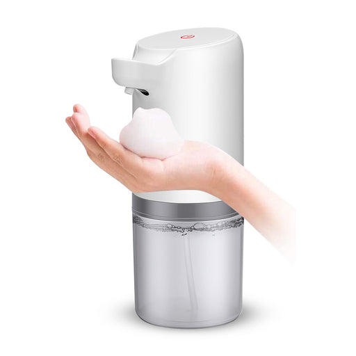 Automatic Soap Dispenser Intelligent Touchless Foam Machine Hand Sanitizer IPX4 400ml Capacity Waterproof Soap Dispenser For Toilets Kitchens Hotel