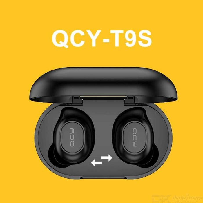 QCY T9S TWS bluetooth 5.0 Earphone Gaming Headphone Low Latency Stereo Wirelsss Earbuds Sport Headset from Eco-System