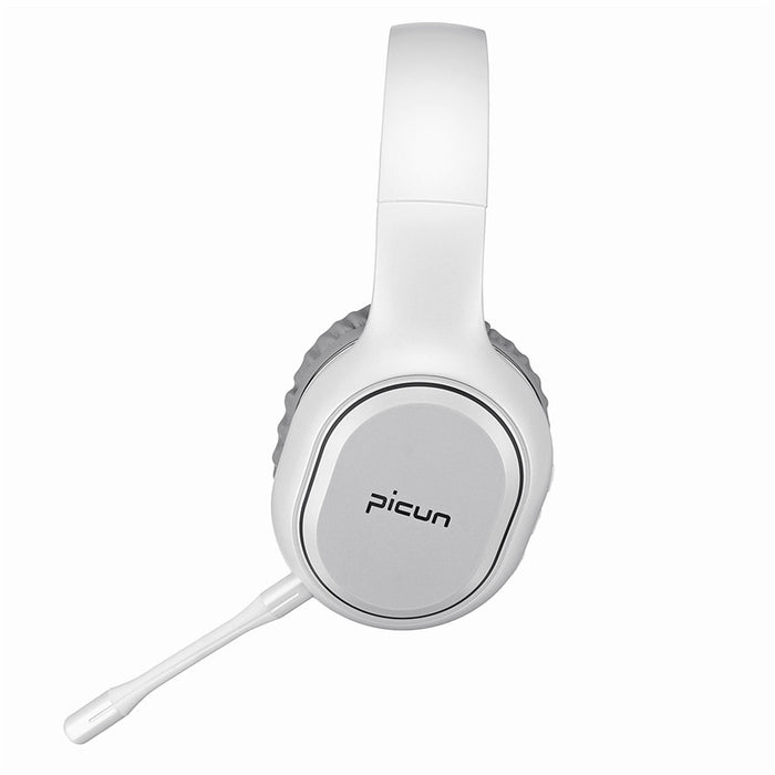 Picun P80S bluetooth 4.1 Gaming Headset LED Lighting Noise Cancelling Wireless Headphone With Mic for PC XBOX