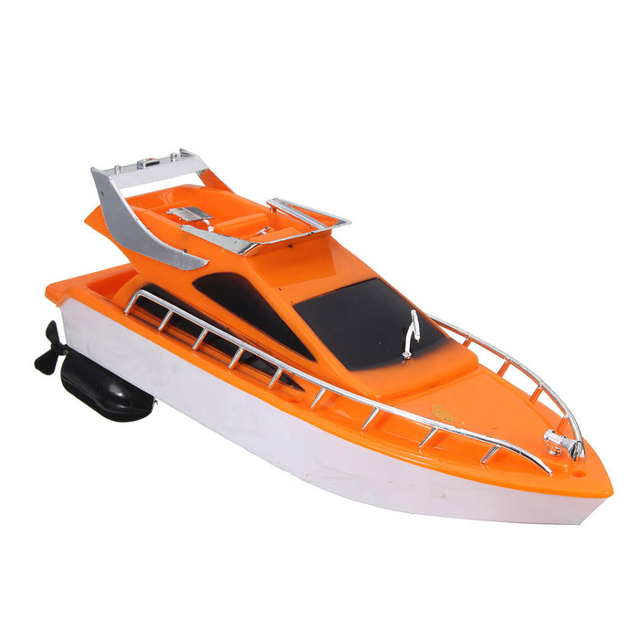 26x7.5x9cm Orange Plastic Electric Remote Control Kid Chirdren Toy Speed Boat