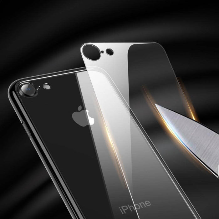 Luxury 9H Tempered Glass Case For iPhone 7/8/X +Plus Models