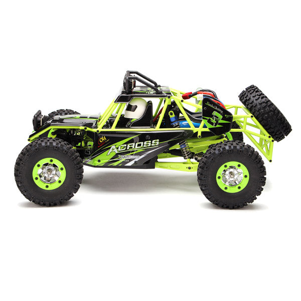 WLtoys 12427 2.4G 1/12 4WD Crawler RC Car With LED Light