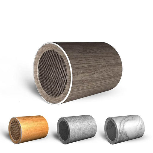 -8 Wood Grain Wireless Bluetooth 5.0 Speaker Outdoor Doodle Mini Speaker Soundbar