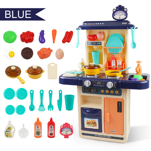 Children Play House Spray Kitchen Toy Set Sound And Light Water Simulation Cooking Utensils Early Education Puzzle Toys