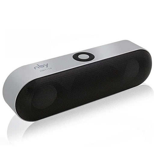 NBY-18 Mini Wireless Bluetooth Speaker Portable Speaker Sound System 3D Stereo Music Surround Support TF AUX USB
