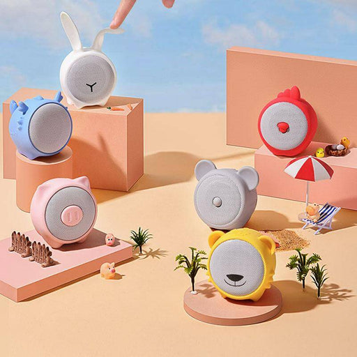 Baseus Portable Bluetooth 5.0 Speaker Wireless Colorful Animal Model Waterproof Stereo Sound Mini Speaker for Home and Car from Xiaomi Ecological Chain