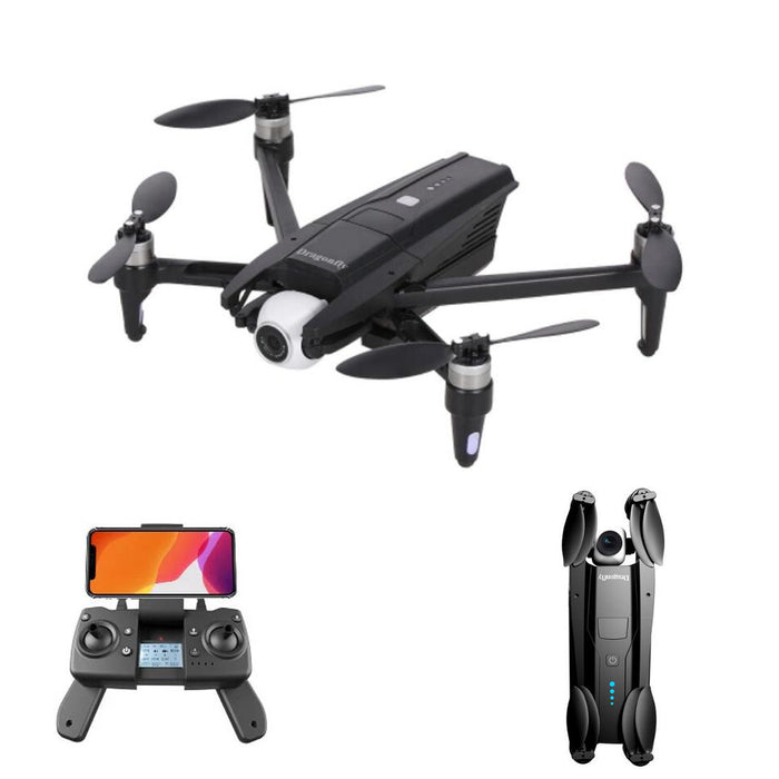 JJRC X15 Dragonfly GPS WiFi FPV with 6K HD Camera Adjustable 160° 2-axis Gimbal Optical Flow Brushless RC Drone Quadcopter RTF