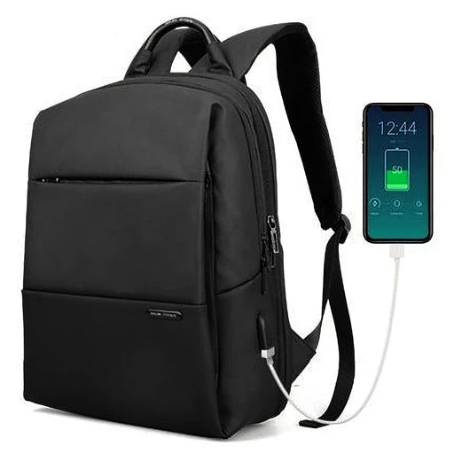 "Mark Ryden Men Laptop Bag Backpack Large Capacity Waterproof Schoolbag with USB Charging Male Anti-thief Bag 15.6"" Notebook"
