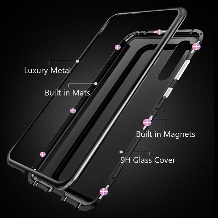 Luxury Magnetic Absorption Case for Huawei Phones