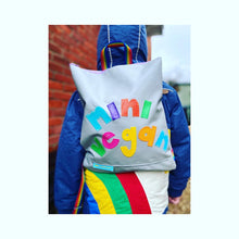 Load image into Gallery viewer, mini me personalised daypack