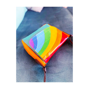 mini mini rainbow messenger