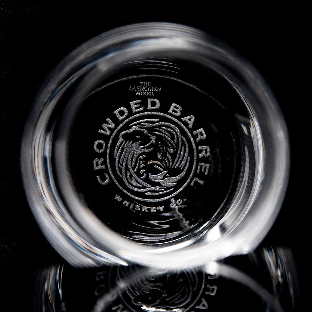 CROWDED BARREL GLENCAIRN ROCKS GLASS