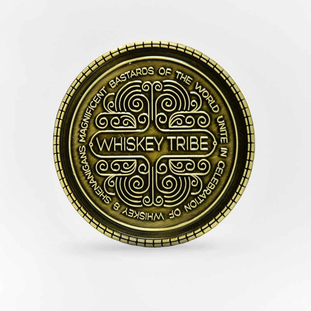 WHISKEY TRIBE CHALLENGE COIN
