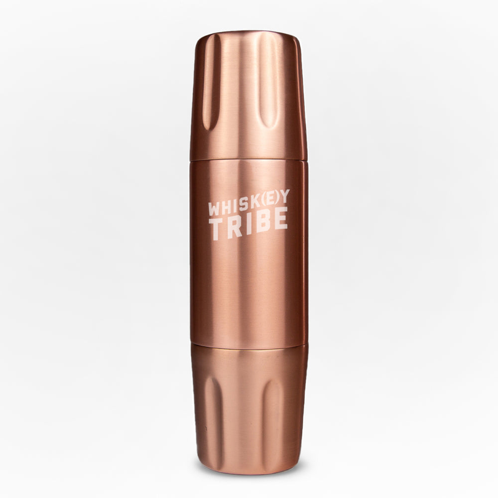 750ml FIRELIGHT FLASK BY HIGH CAMP - COPPER