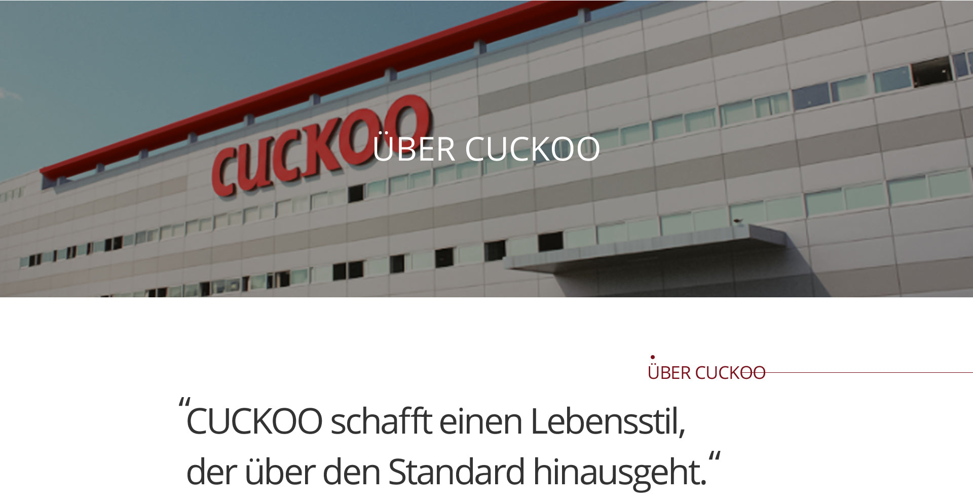about cuckoo electronics