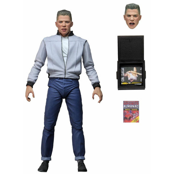 Back to the Future Ultimate Biff Tannen 7-Inch Scale Action Figure