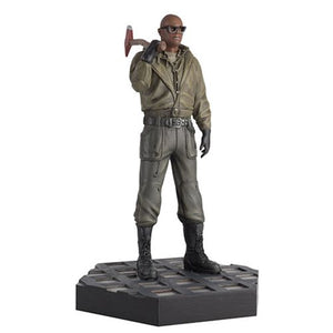 Alien 3 Dillon Statue with Collector Magazine #47