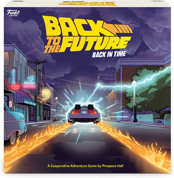 Back to The Future - Back in Time Board Game