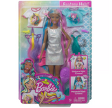 Barbie Fantasy Hair Doll - Mermaid and Unicorn Looks