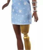 Barbie Fashionistas Doll - Star Print Dress