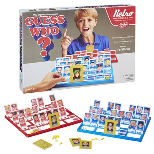 Guess Who? Retro Series 1988 Edition Game