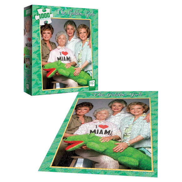 Golden Girls I Heart Miami 1,000-Piece Puzzle