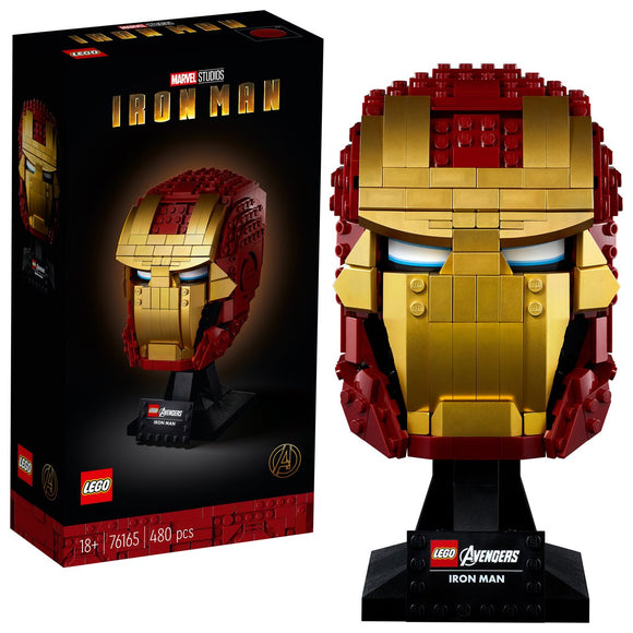 LEGO 76165 Marvel Super Heroes Iron Man Helmet