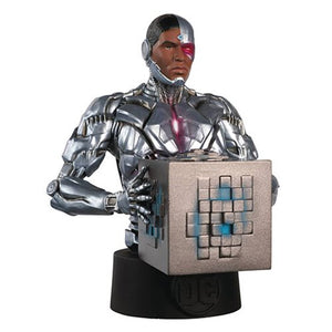 Justice League Cyborg Bust with Collector Magazine #34