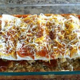 Skinny Dip Low Carb Enchiladas
