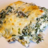 5 Carb Triple Cheese Spinach Lasagna With Skinny Dip Noodles