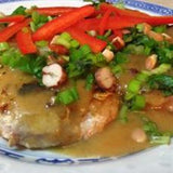Pork Chops & Thai Coconut Sauce