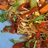 Easy Asian Noodles Made With Skinny Dip Noodles