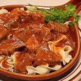 Low Carb Goulash with Skinny Dip Noodles