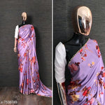 Stylish Satin Bollywood saree # S003
