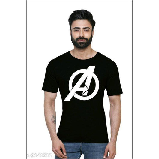 Avengers-Black-Cotton-T-Shirts