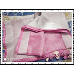 Beautiful Pink linen Party Saree