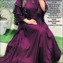 Fashionable Gowns With Pearl Work Ethic Wear Kurthi