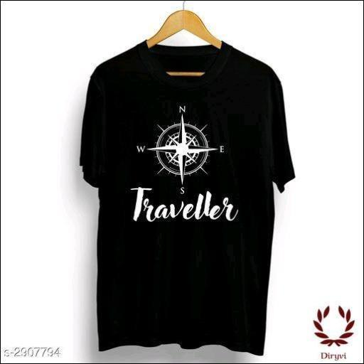 Men's-Cotton-Printed-T-Shirts-Compass