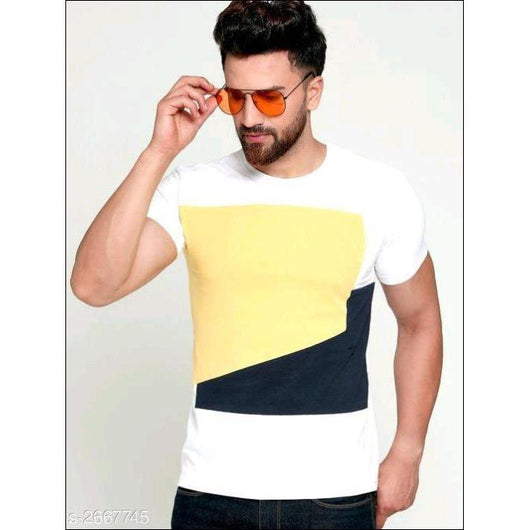 Multicolored-Cotton-Half-Sleeve-T-Shirts