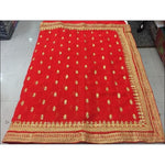 Red Designer Heavy Stone Work Party Saree Party saree
