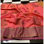 Swarnika silk saree with weaving border
